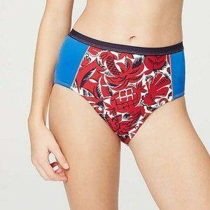 Blue Floral Swim Bikini Bottom Ann Taylor LOFT Women/'s S Maternity NWT $54